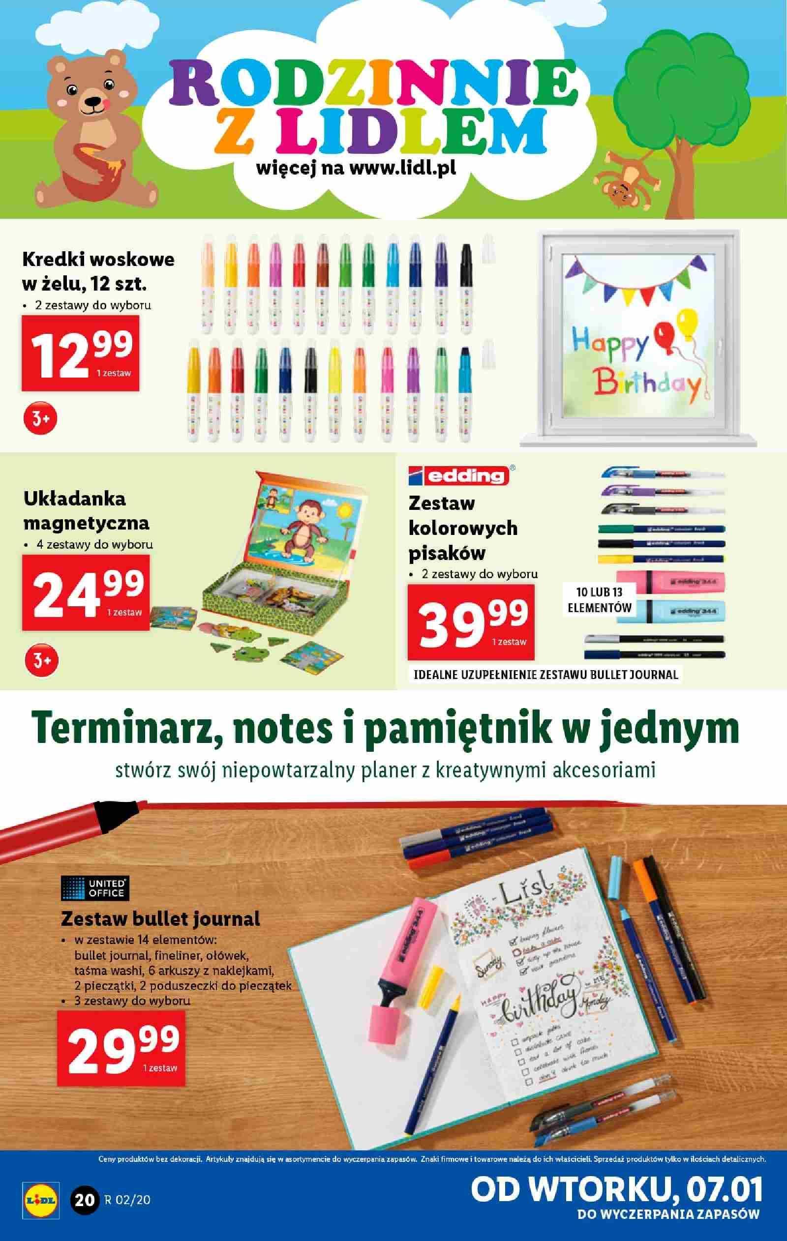 Gazetka promocyjna Lidl do 11/01/2020 str.20