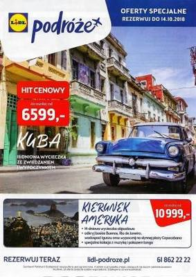 Lidl gazetka - od 17/09/2018 do 14/10/2018