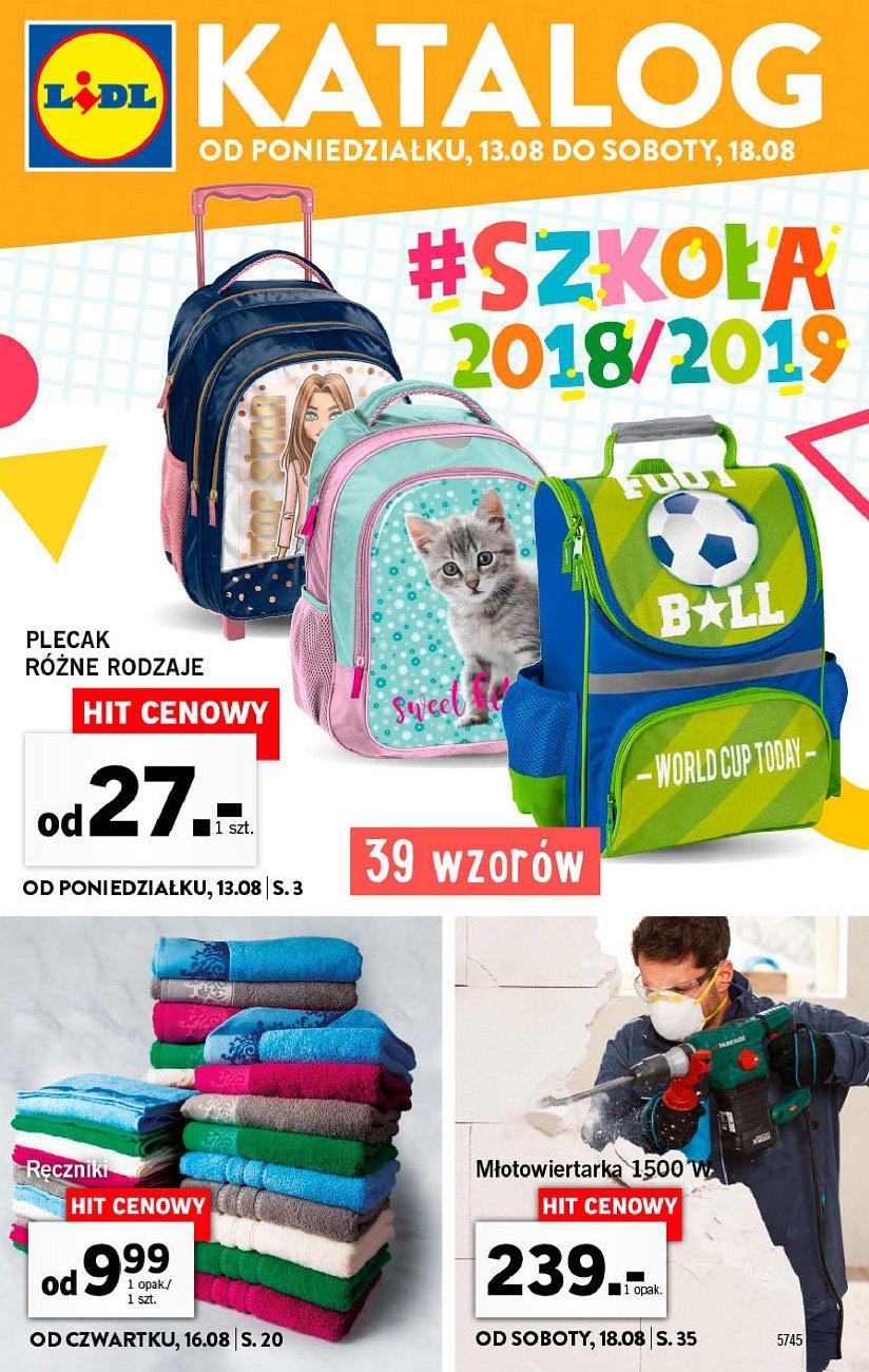 Gazetka promocyjna Lidl do 18/08/2018 str.0