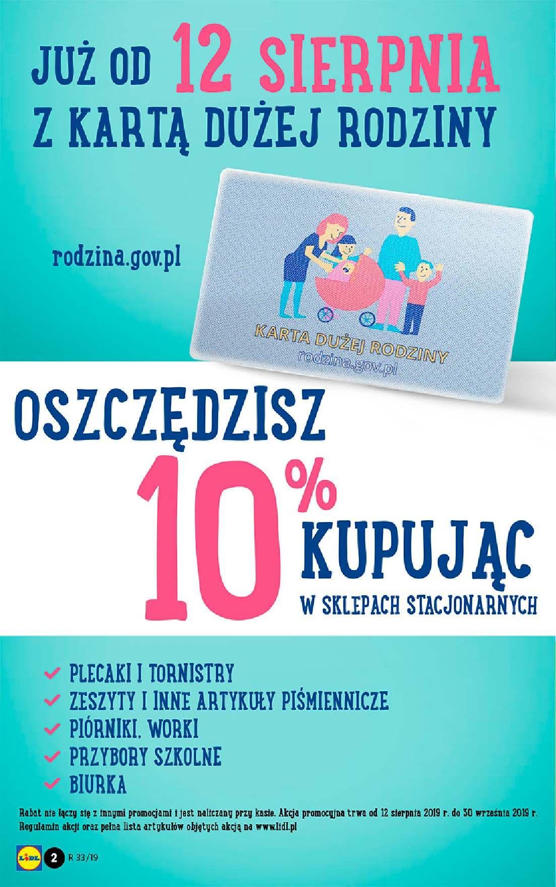 Gazetka promocyjna Lidl do 17/08/2019 str.2