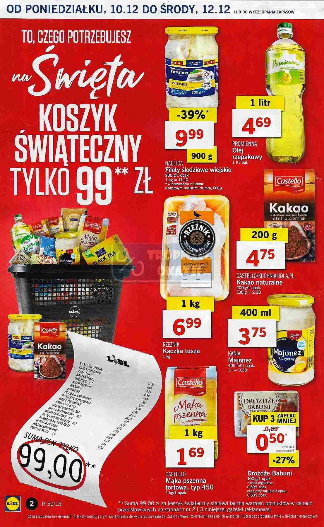 Gazetka promocyjna Lidl do 12/12/2018 str.2