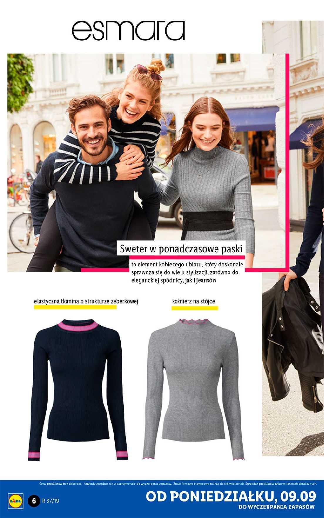 Gazetka promocyjna Lidl do 14/09/2019 str.6
