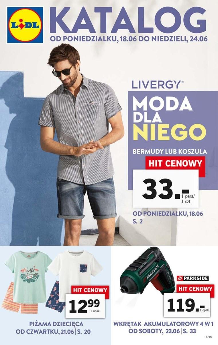 Gazetka promocyjna Lidl do 24/06/2018 str.1