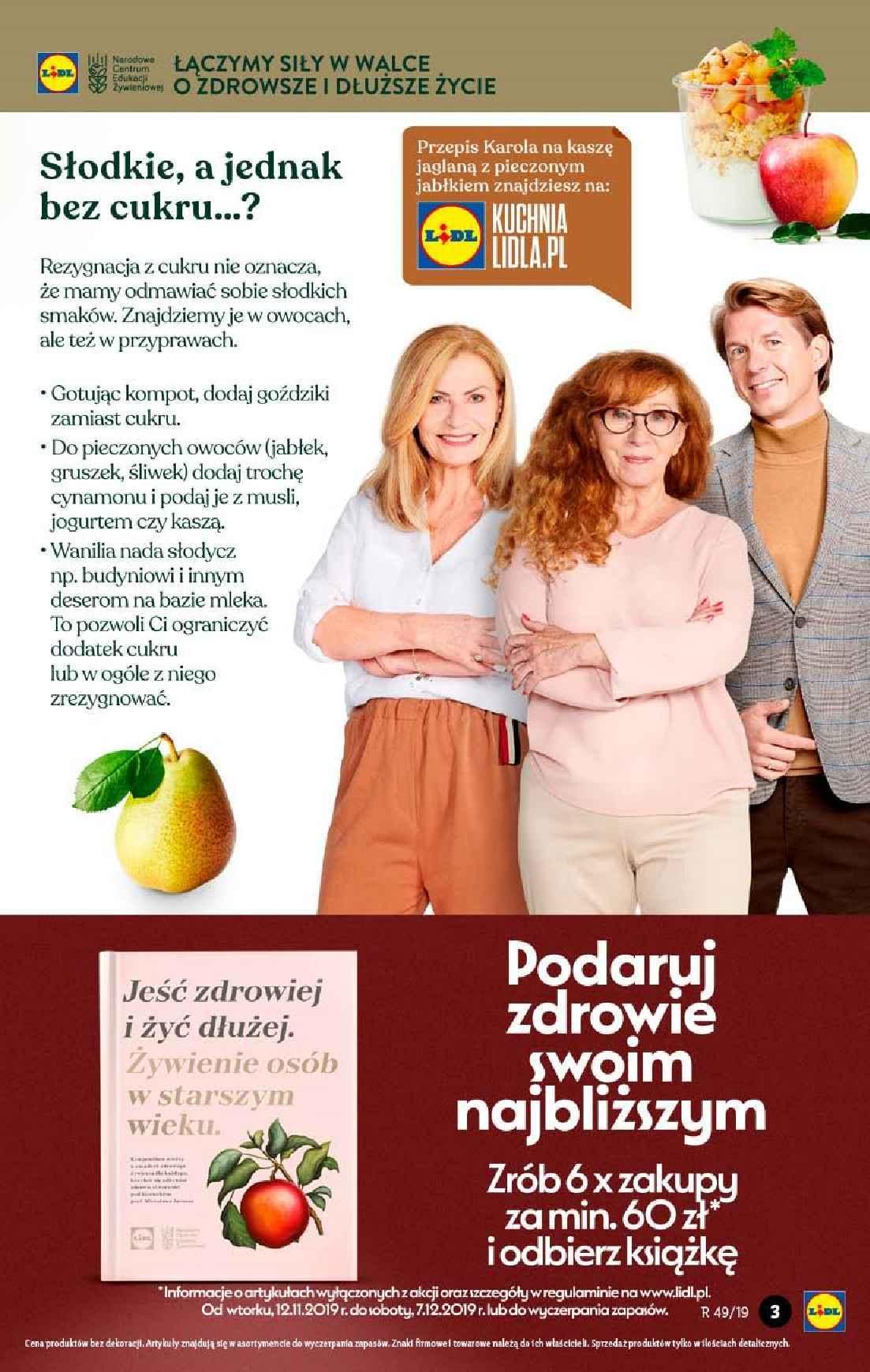 Gazetka promocyjna Lidl do 04/12/2019 str.3