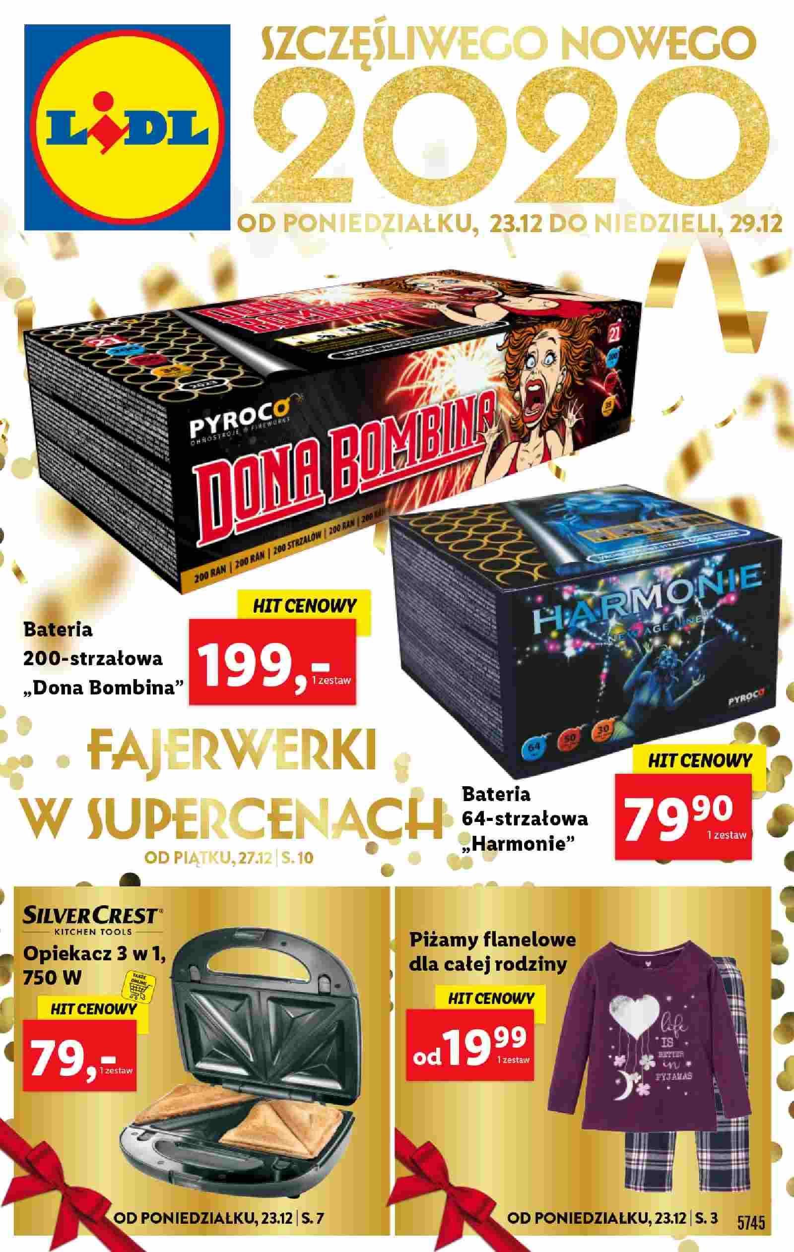 Gazetka promocyjna Lidl do 29/12/2019 str.1