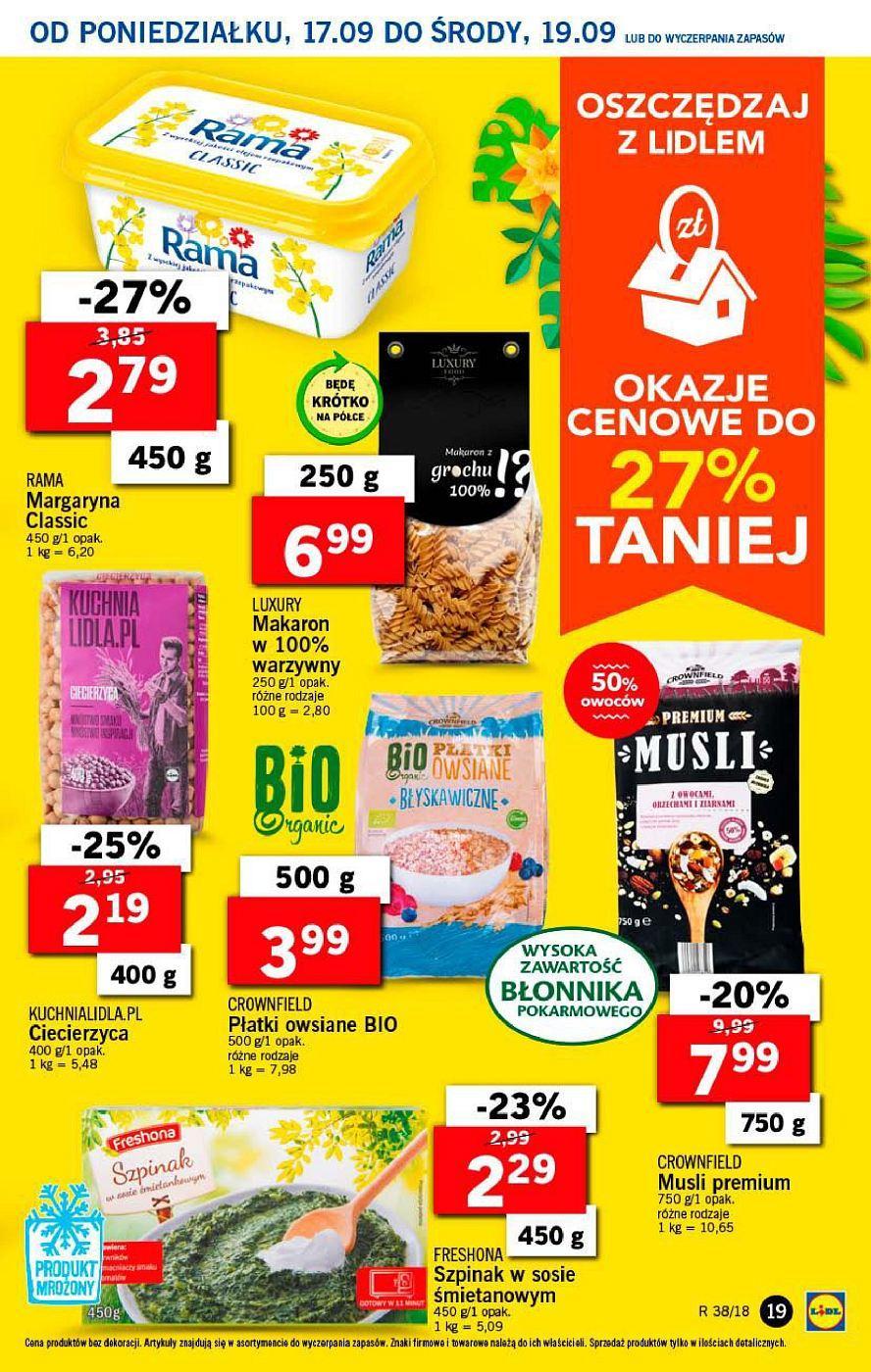 Gazetka promocyjna Lidl do 19/09/2018 str.19
