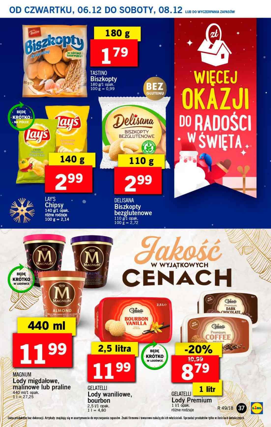 Gazetka promocyjna Lidl do 08/12/2018 str.37