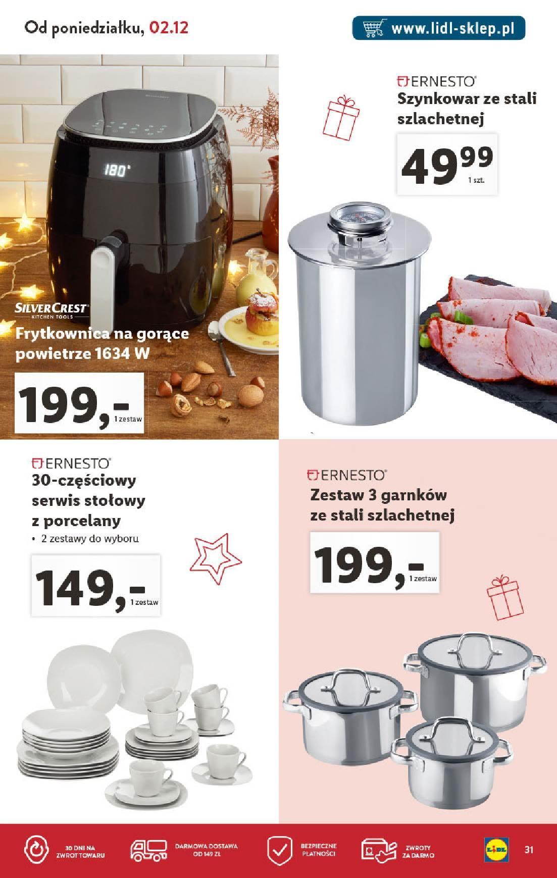 Gazetka promocyjna Lidl do 31/12/2019 str.31