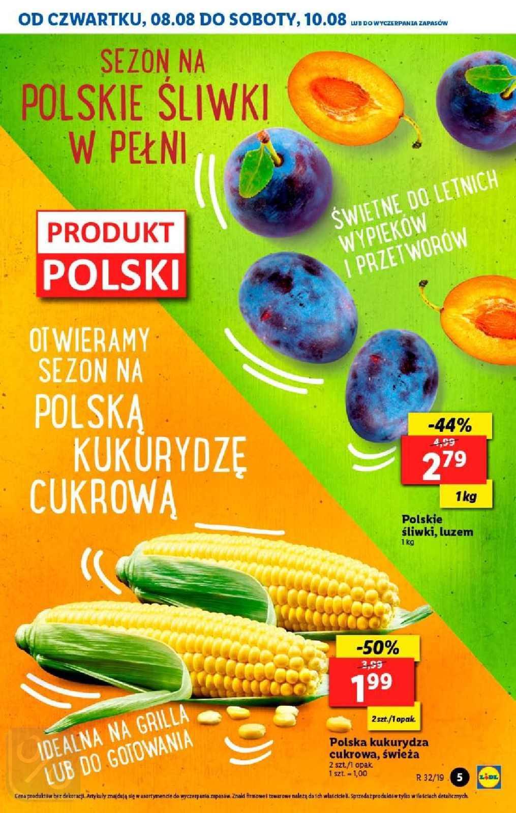 Gazetka promocyjna Lidl do 11/08/2019 str.4