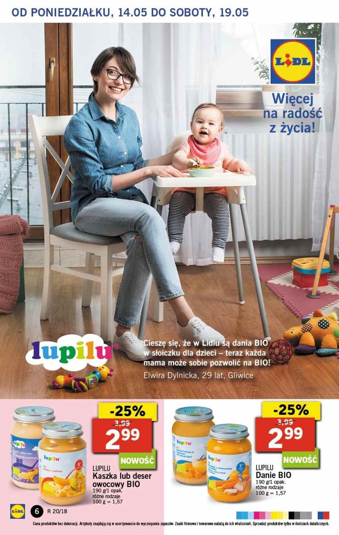 Gazetka promocyjna Lidl do 16/05/2018 str.5