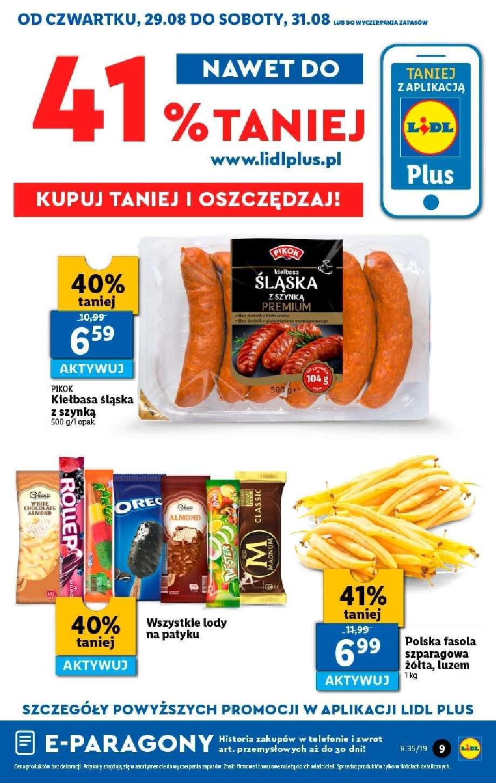 Gazetka promocyjna Lidl do 31/08/2019 str.8