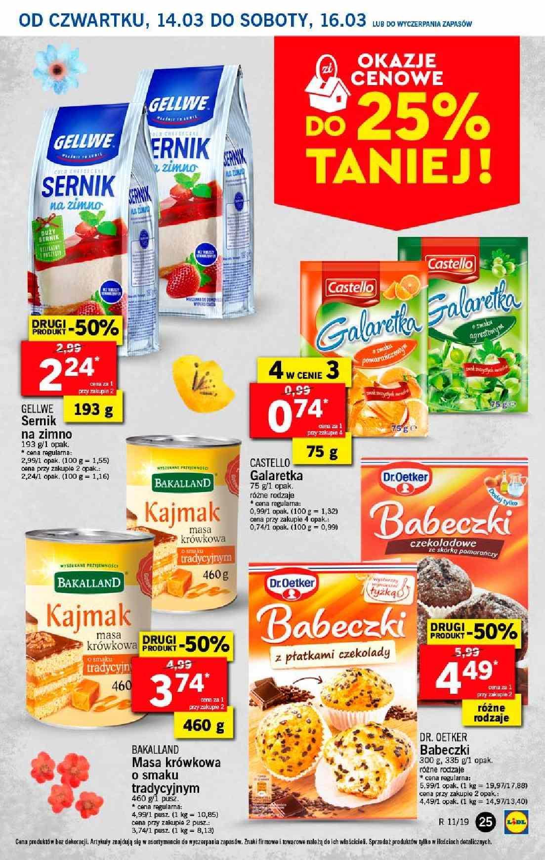Gazetka promocyjna Lidl do 17/03/2019 str.25