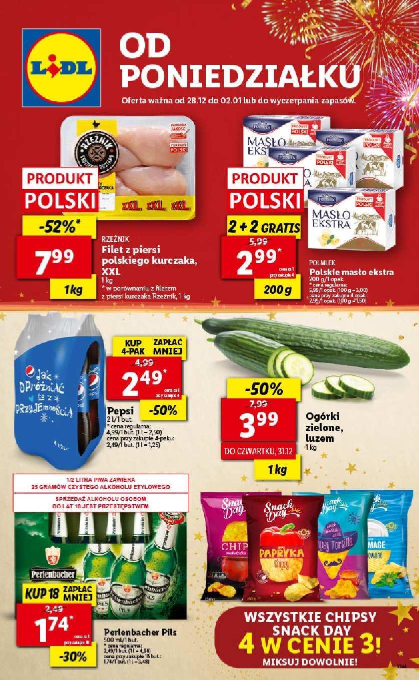 Gazetka promocyjna Lidl do 02/01/2021 str.1