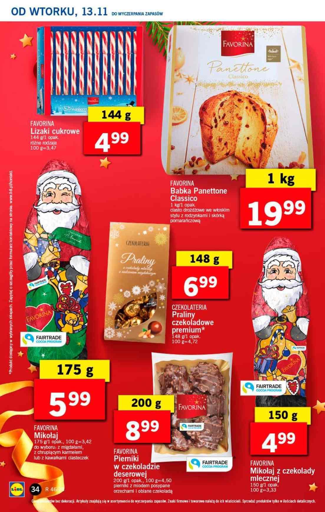 Gazetka promocyjna Lidl do 14/11/2018 str.34