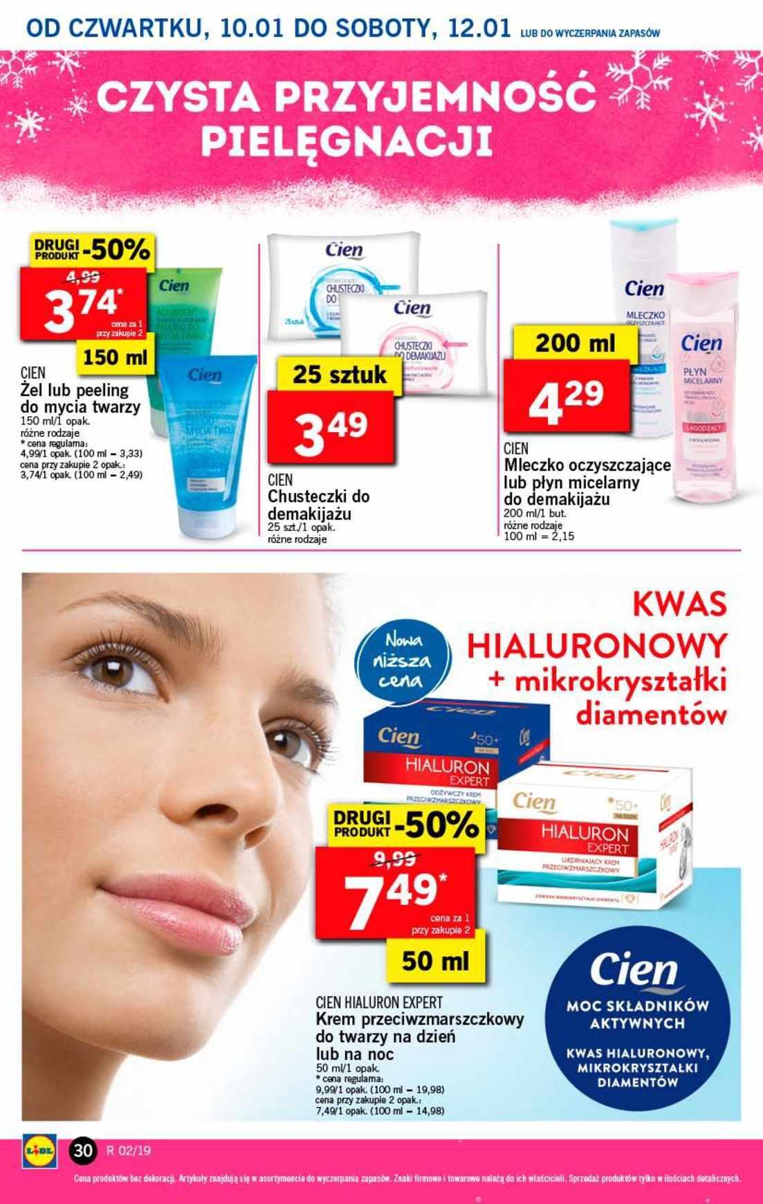Gazetka promocyjna Lidl do 12/01/2019 str.30