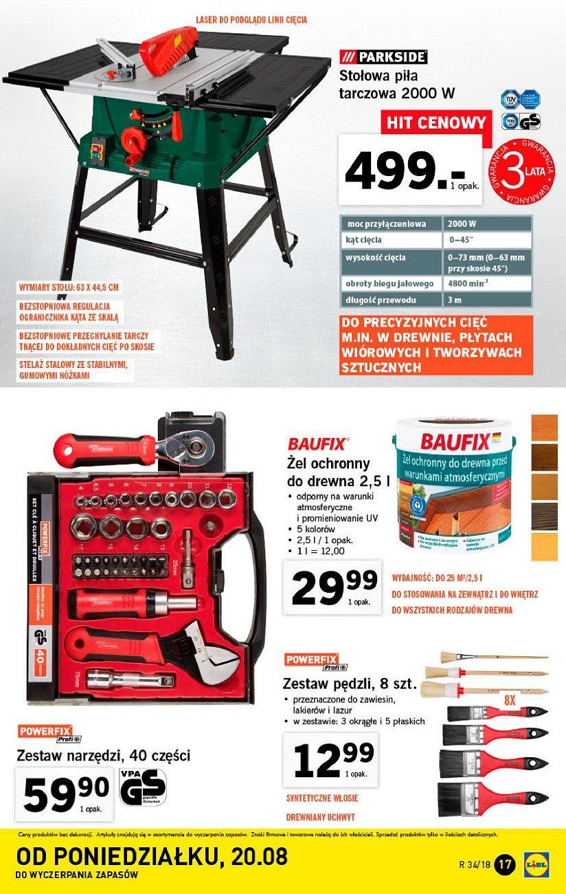 Gazetka promocyjna Lidl do 26/08/2018 str.17