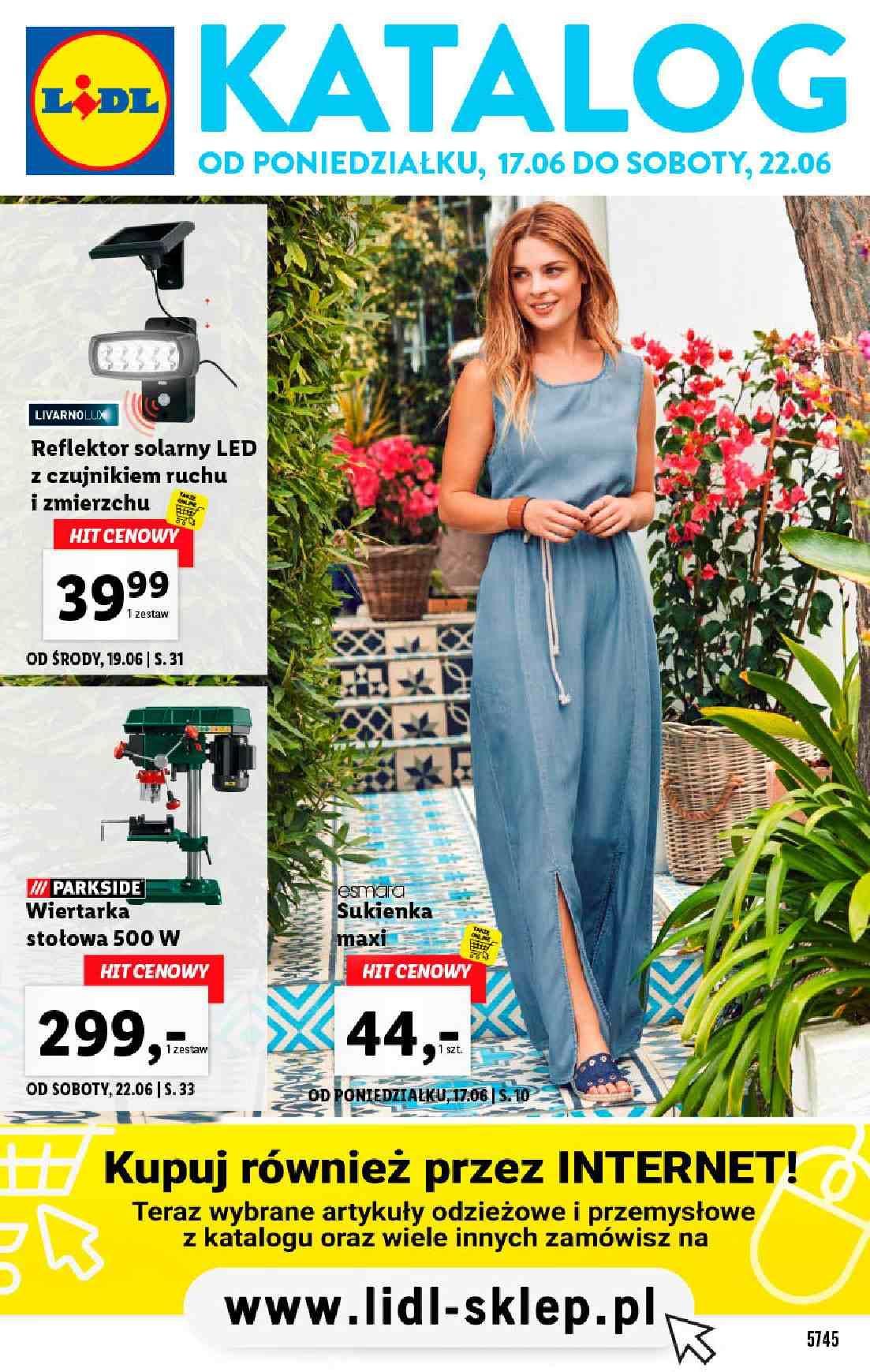 Gazetka promocyjna Lidl do 22/06/2019 str.1