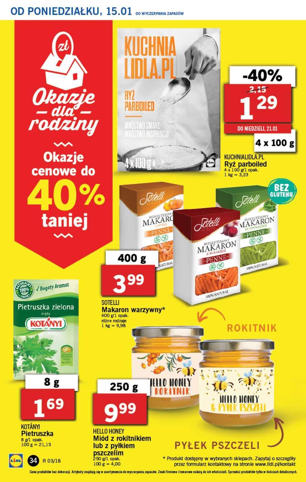 Gazetka promocyjna Lidl do 17/01/2018 str.34