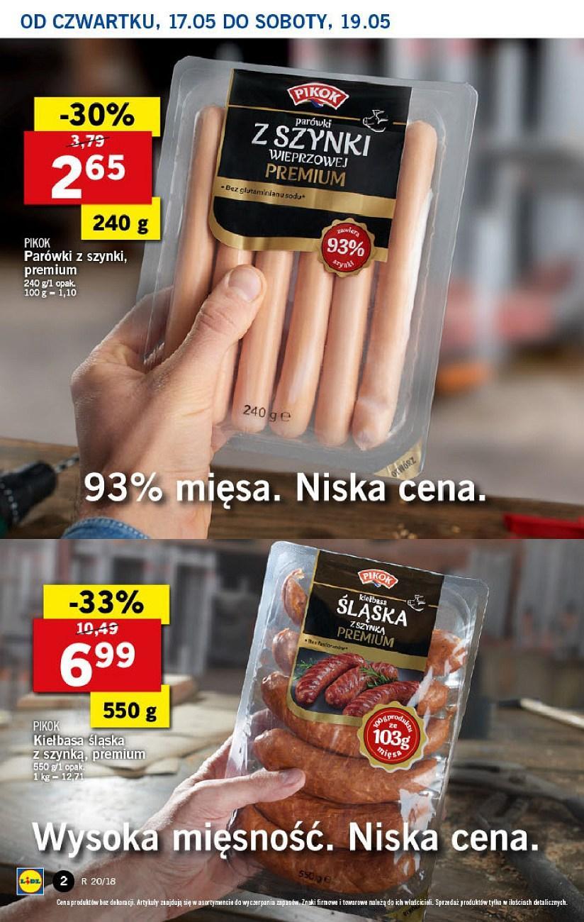 Gazetka promocyjna Lidl do 19/05/2018 str.1