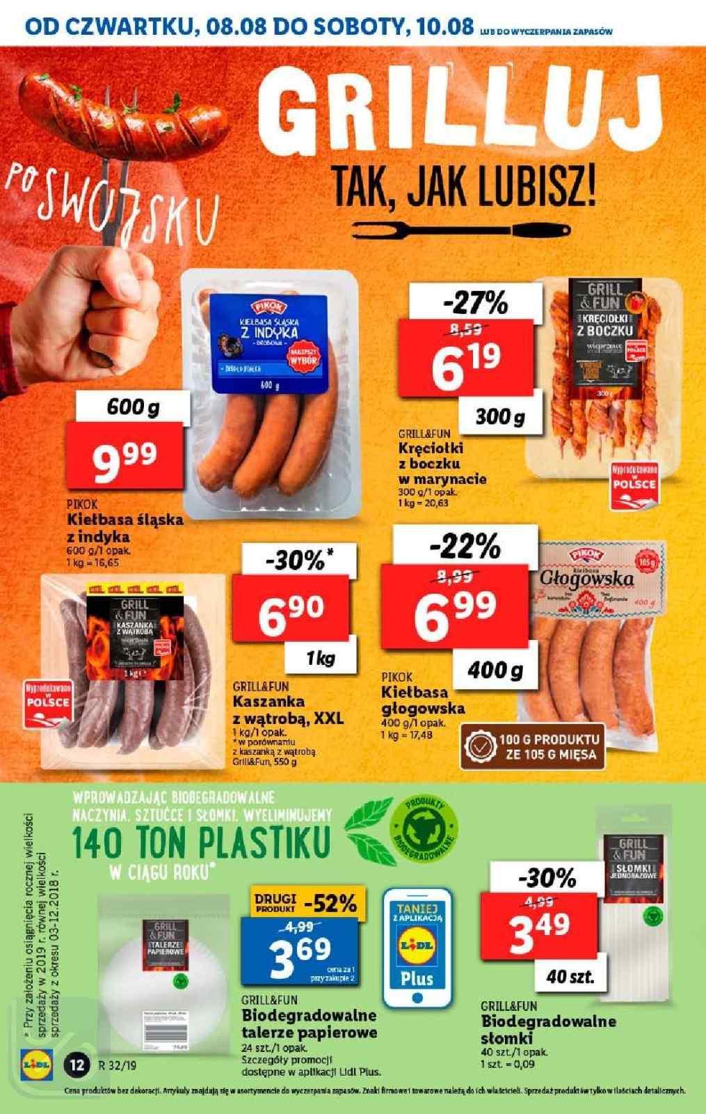 Gazetka promocyjna Lidl do 11/08/2019 str.11