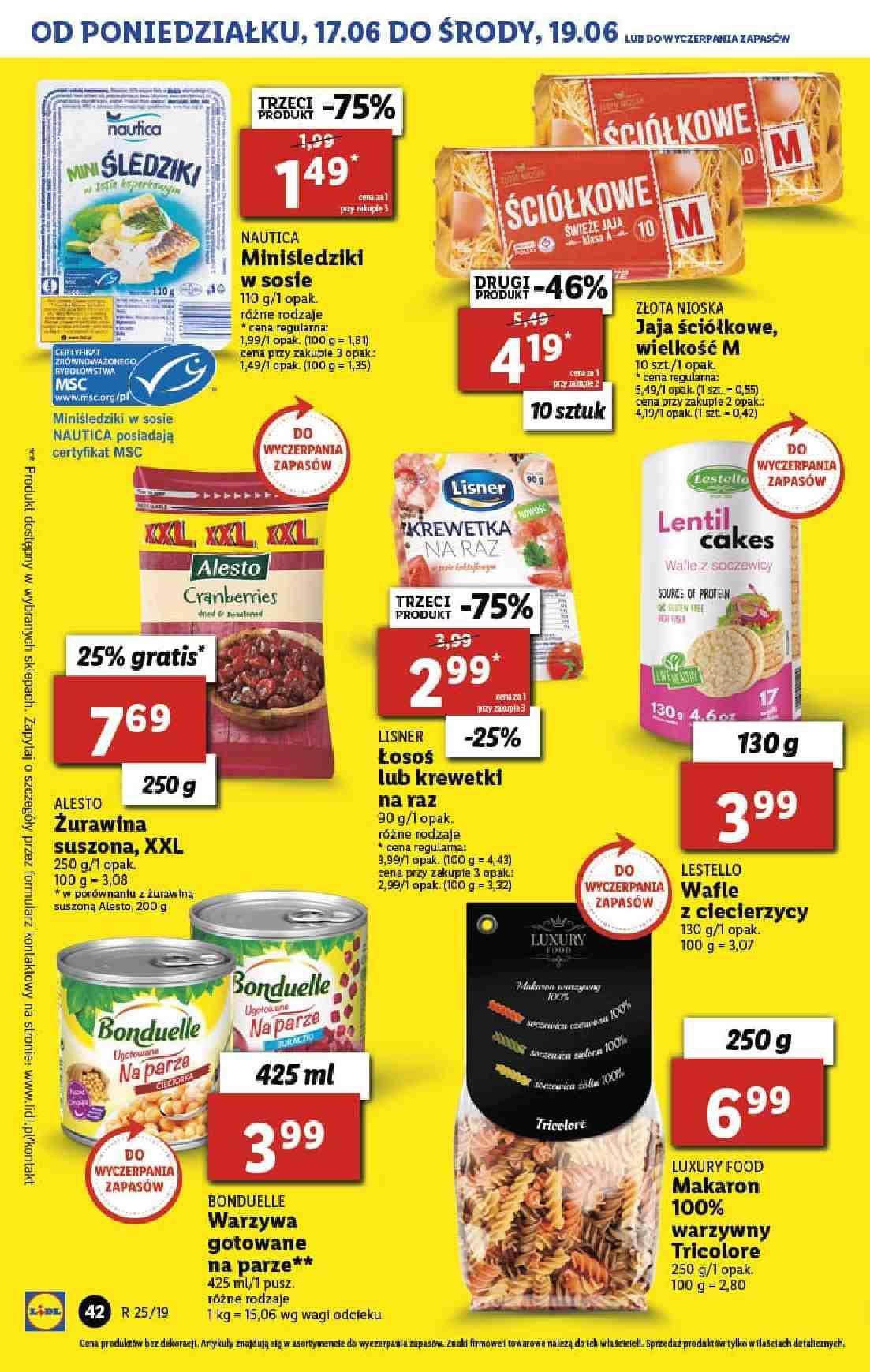 Gazetka promocyjna Lidl do 26/06/2019 str.42
