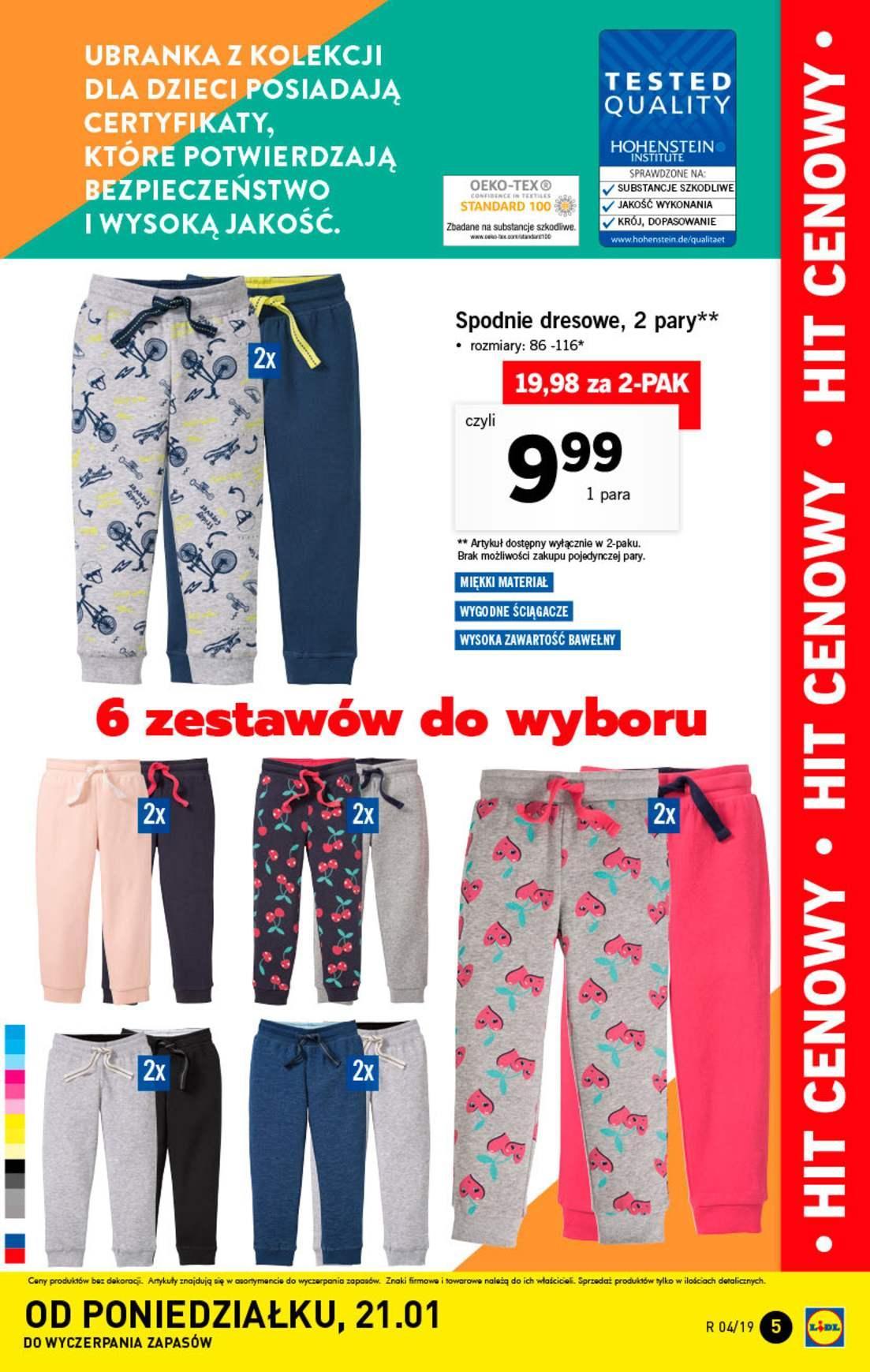 Gazetka promocyjna Lidl do 27/01/2019 str.5