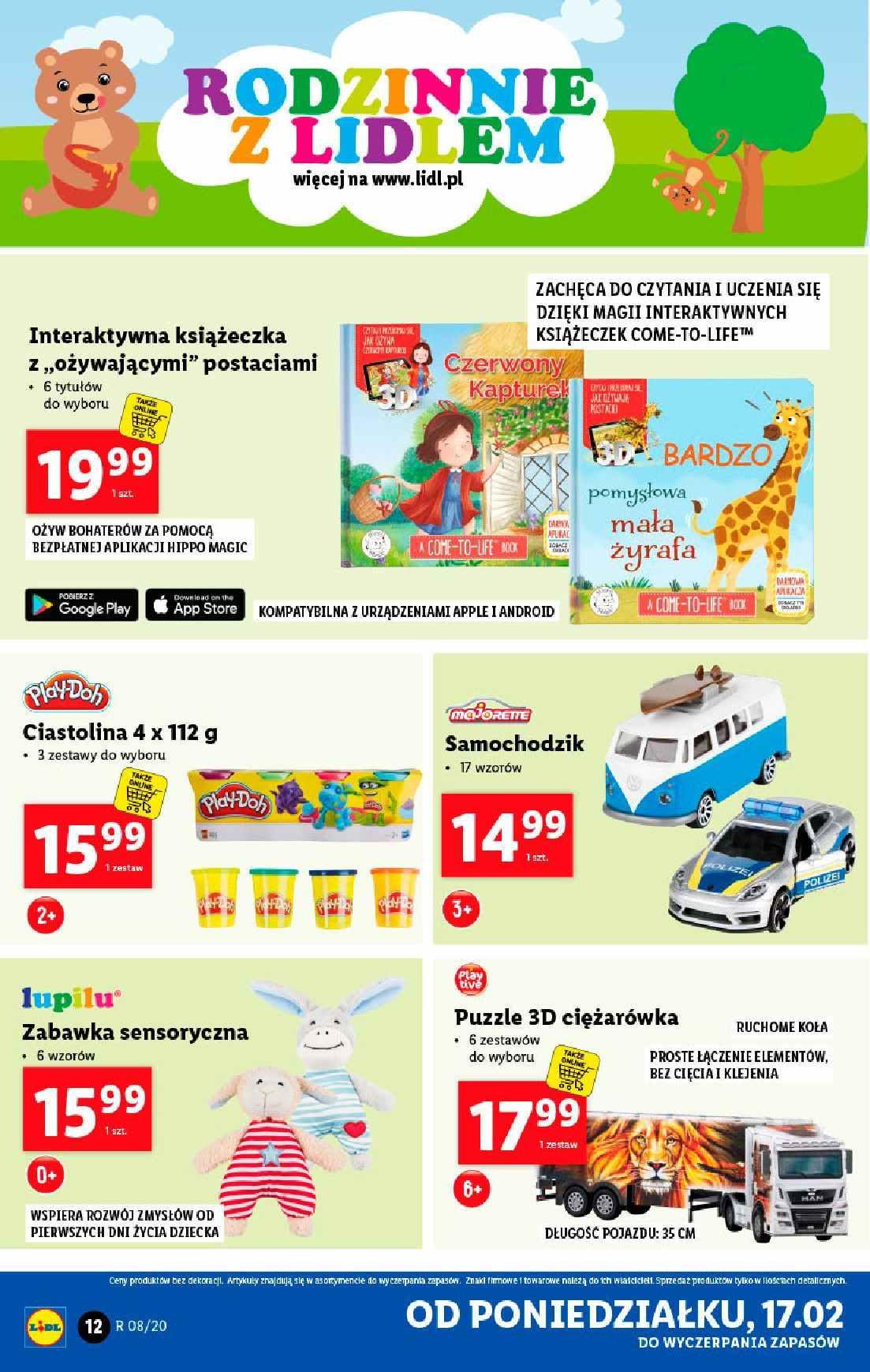 Gazetka promocyjna Lidl do 22/02/2020 str.12