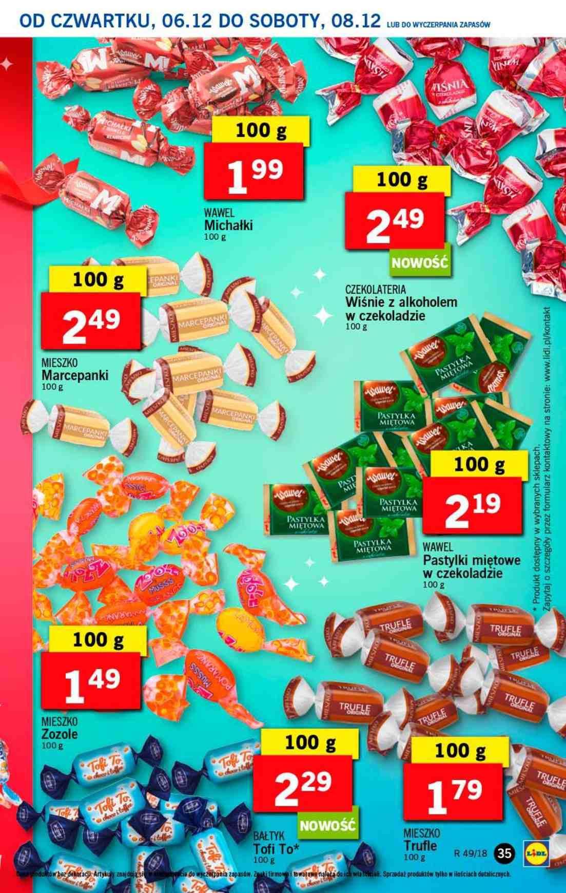 Gazetka promocyjna Lidl do 08/12/2018 str.35