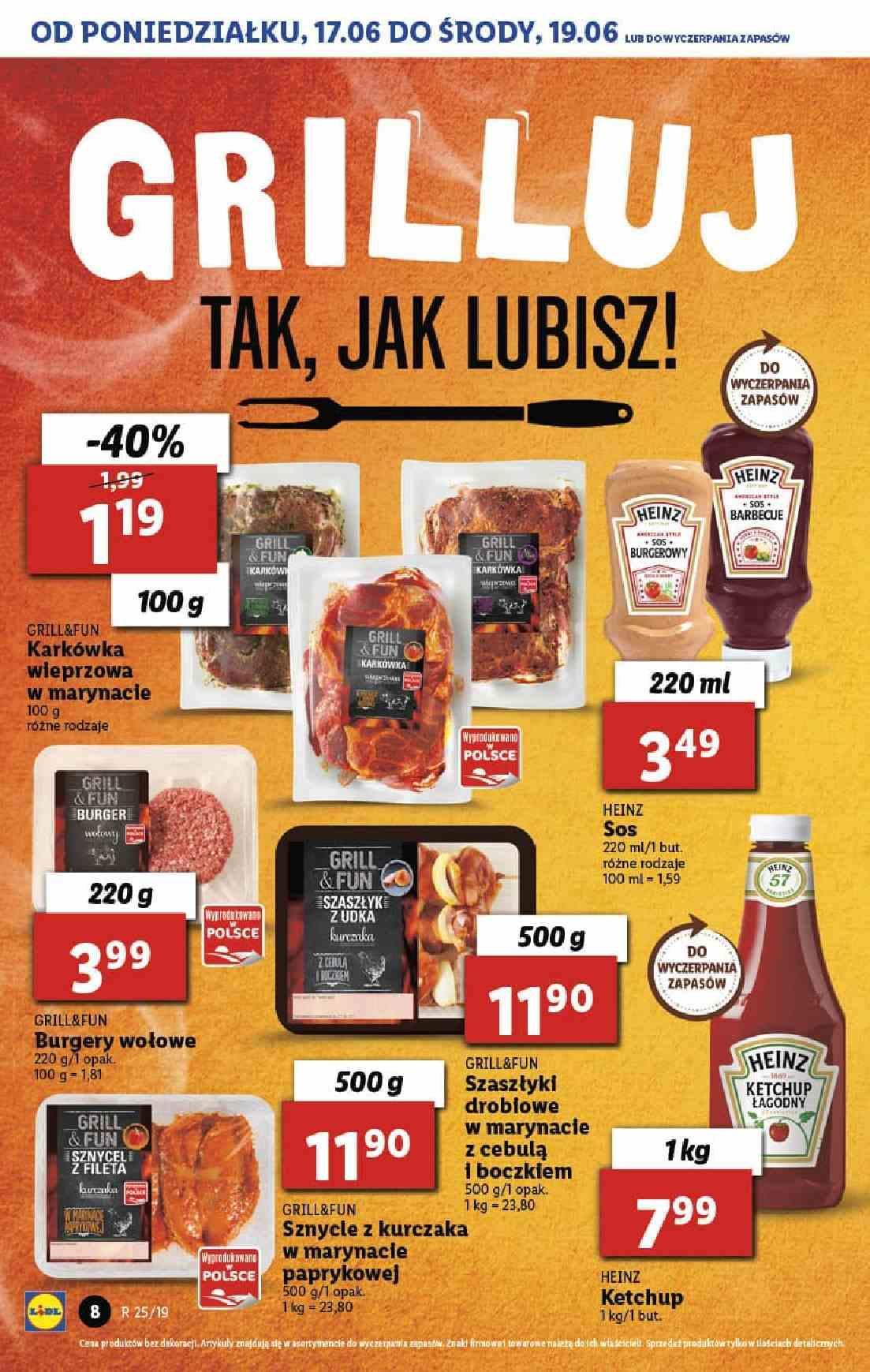 Gazetka promocyjna Lidl do 26/06/2019 str.8
