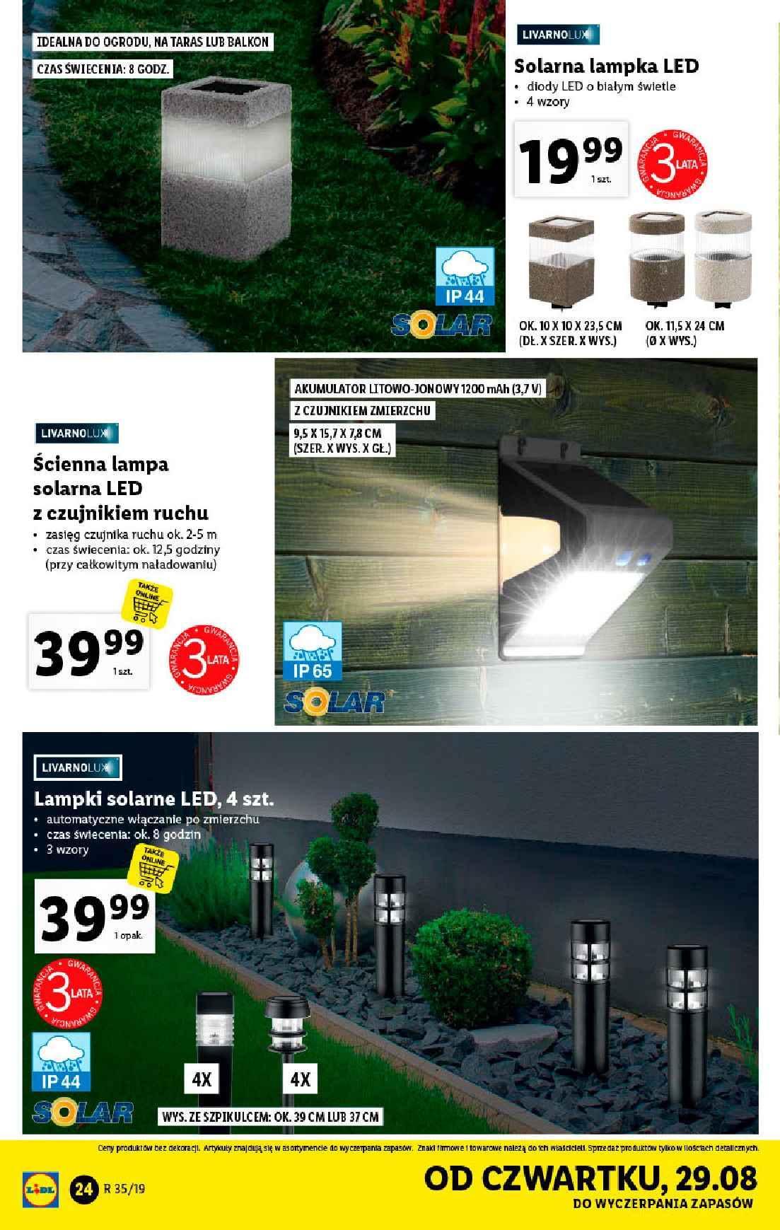 Gazetka promocyjna Lidl do 31/08/2019 str.23