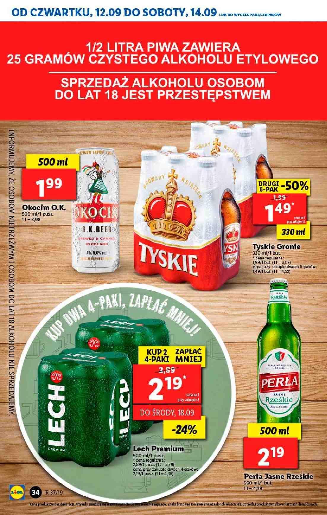 Gazetka promocyjna Lidl do 14/09/2019 str.34