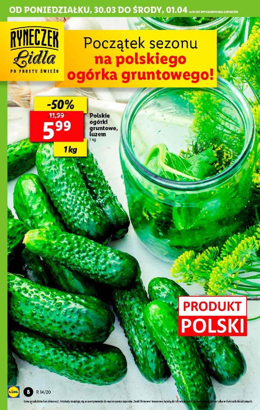 Gazetka promocyjna Lidl do 01/04/2020 str.8