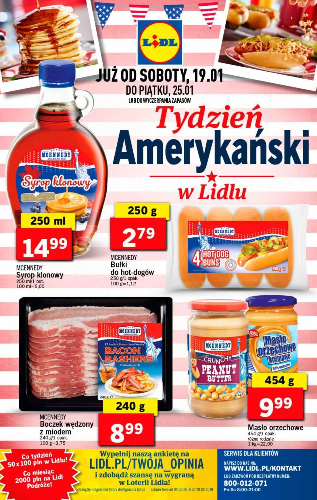 Gazetka promocyjna Lidl do 27/01/2019 str.32