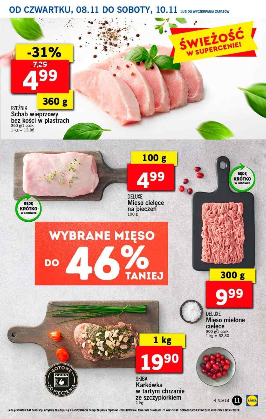 Gazetka promocyjna Lidl do 10/11/2018 str.11