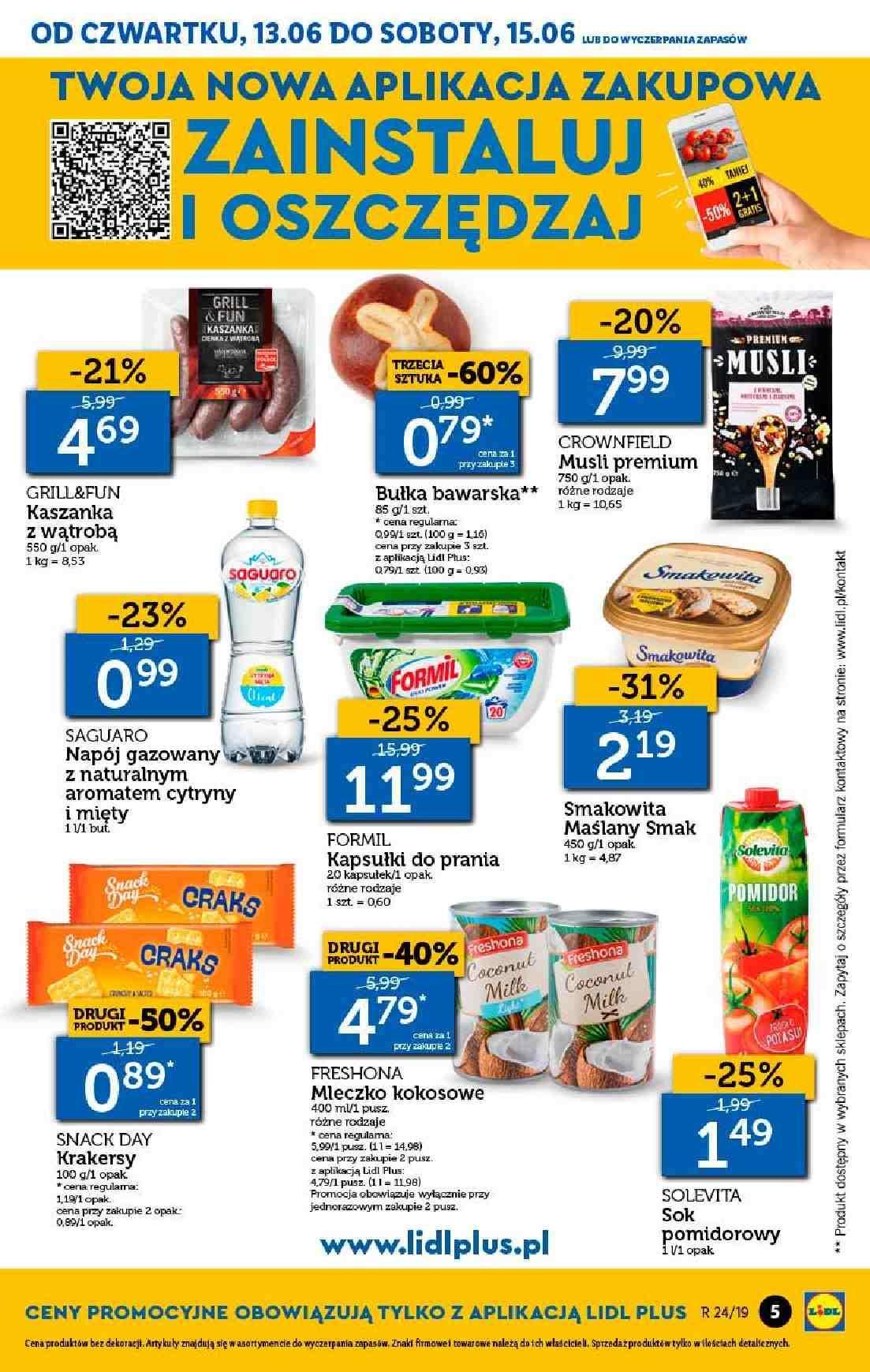 Gazetka promocyjna Lidl do 16/06/2019 str.5