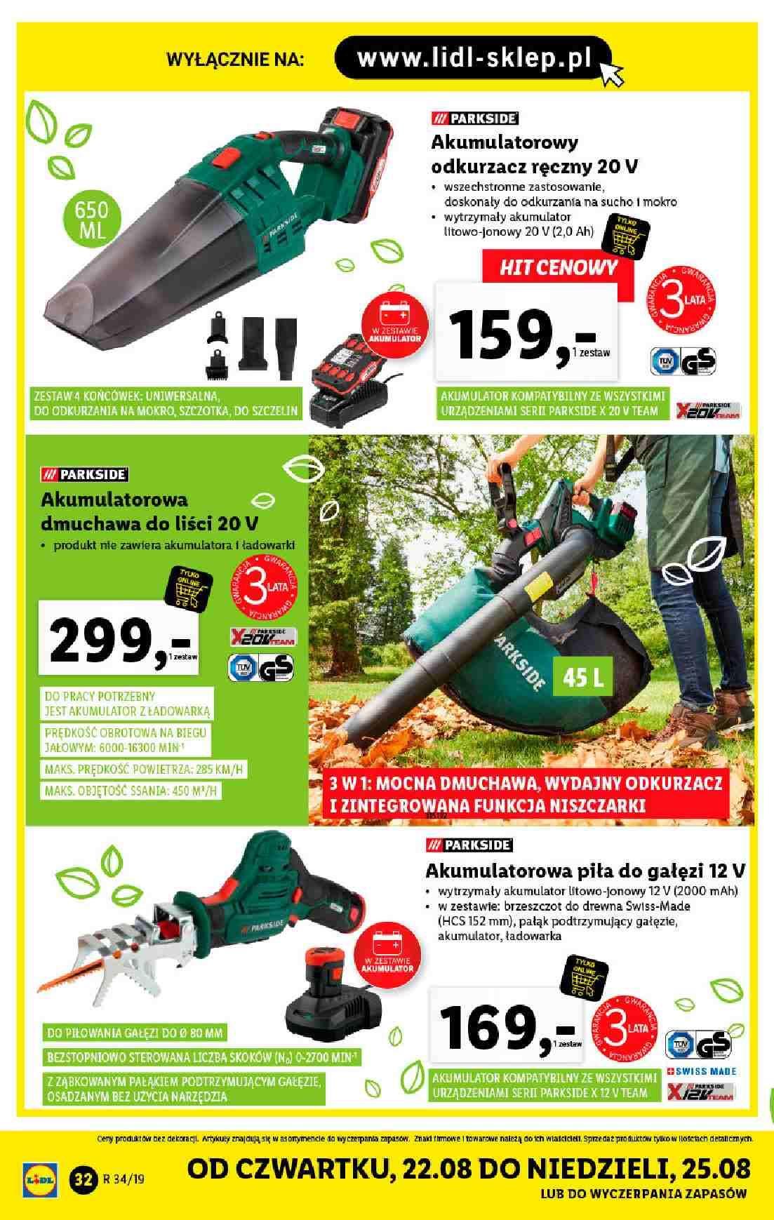 Gazetka promocyjna Lidl do 25/08/2019 str.31