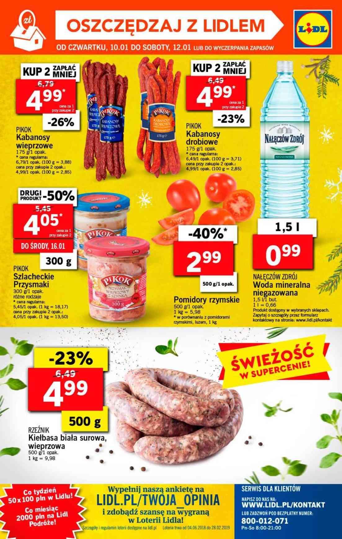 Gazetka promocyjna Lidl do 12/01/2019 str.36