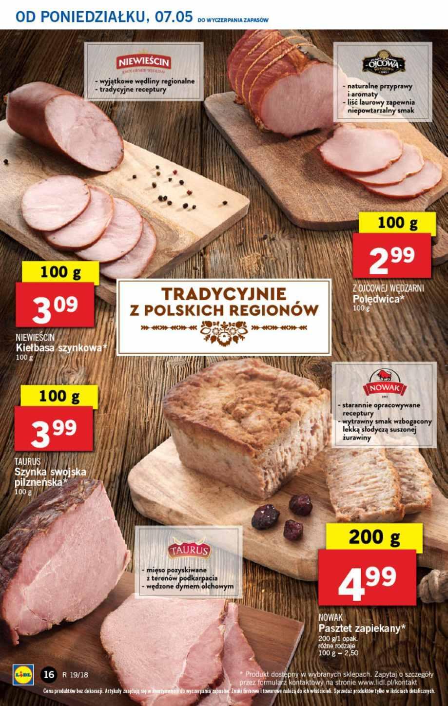 Gazetka promocyjna Lidl do 09/05/2018 str.15