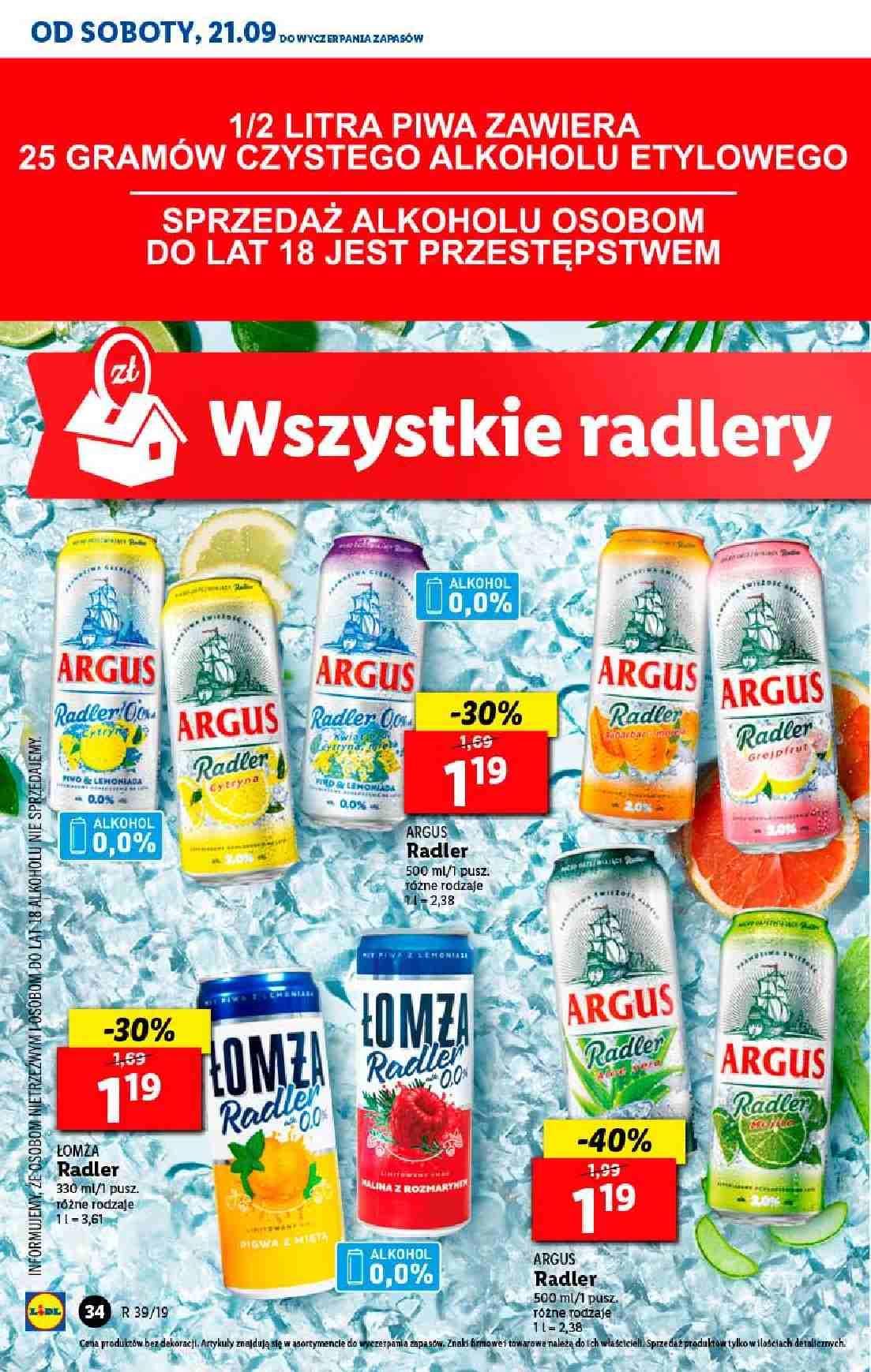 Gazetka promocyjna Lidl do 25/09/2019 str.34