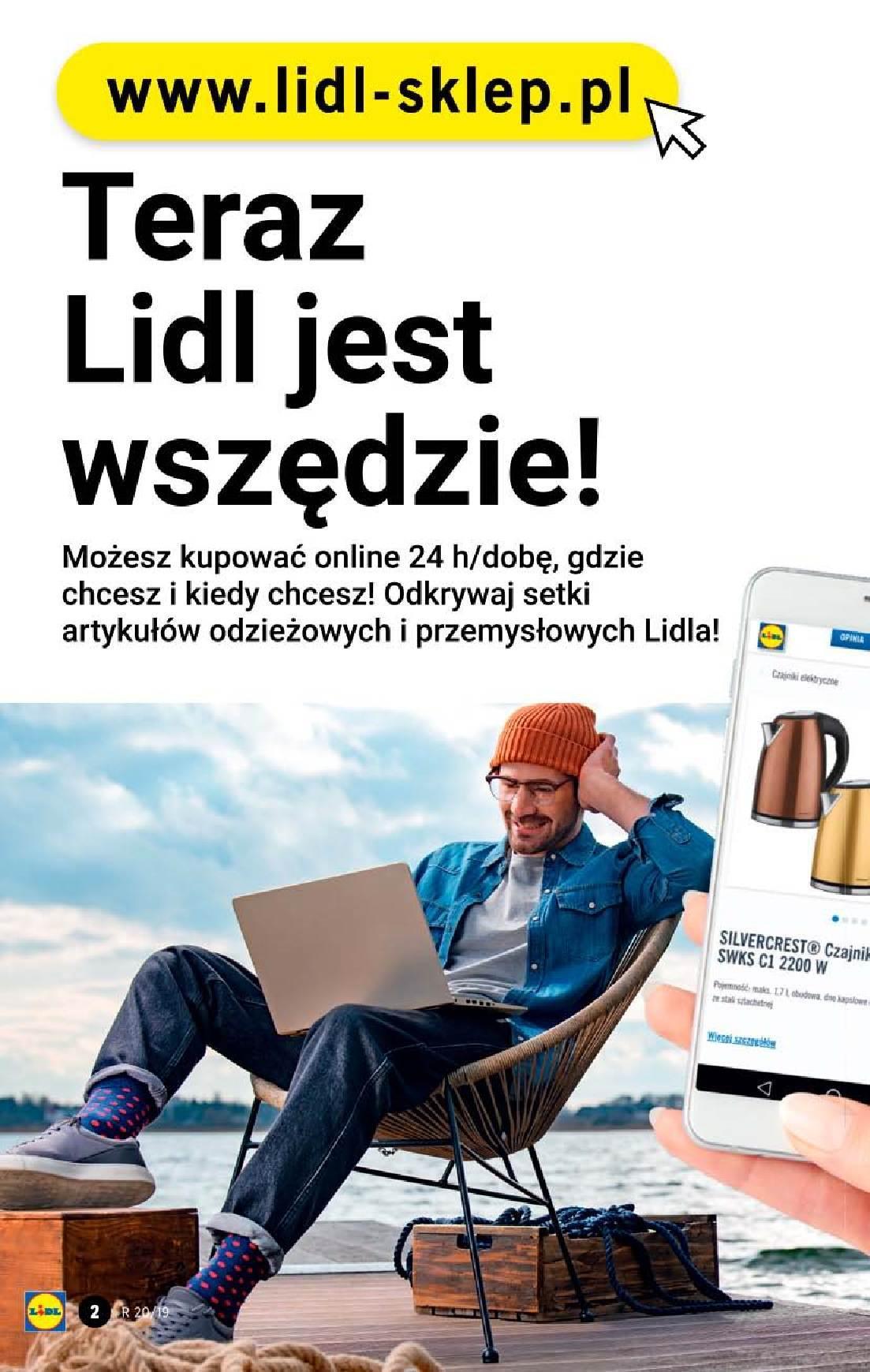 Gazetka promocyjna Lidl do 19/05/2019 str.2