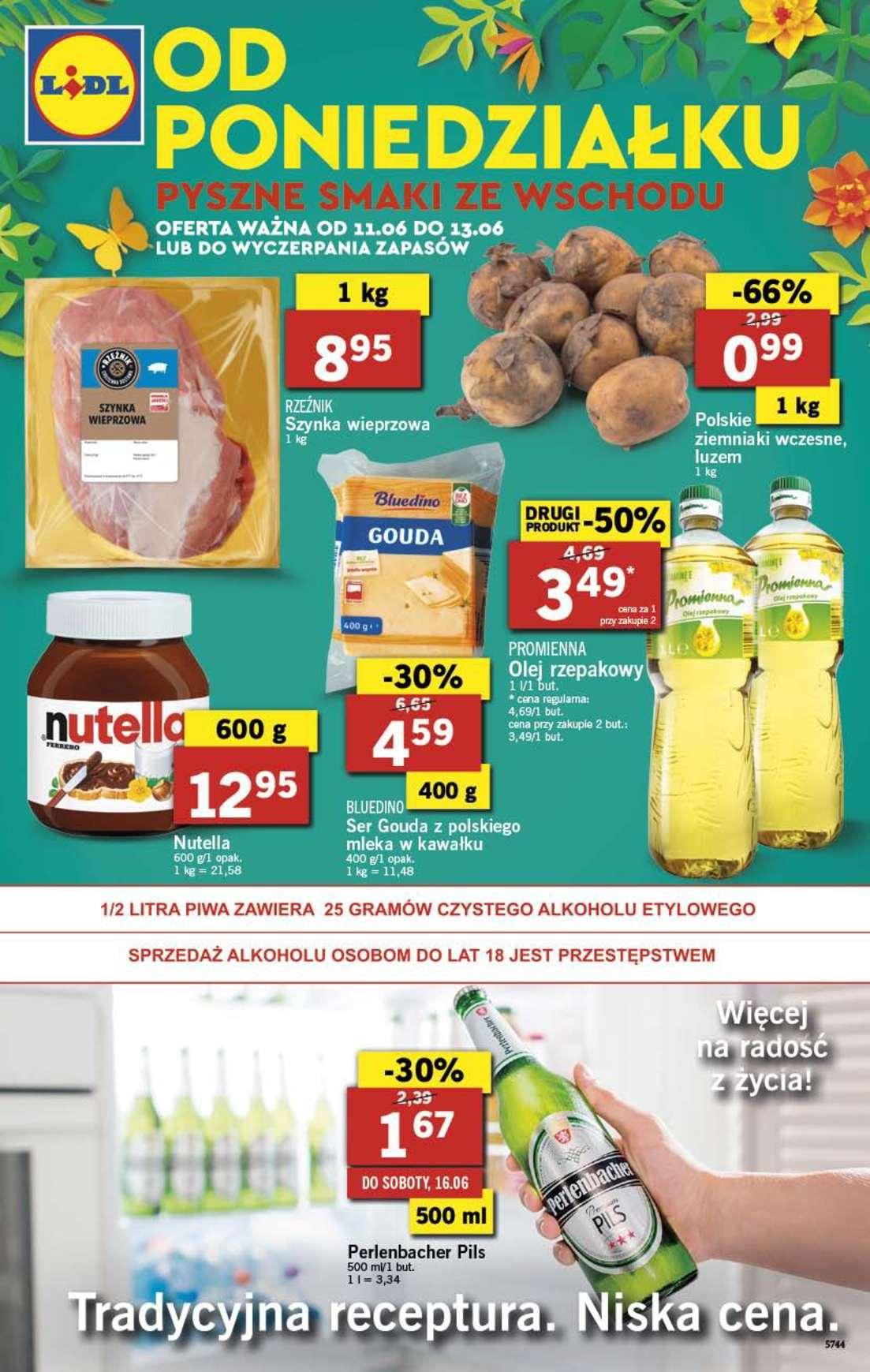 Gazetka promocyjna Lidl do 13/06/2018 str.0