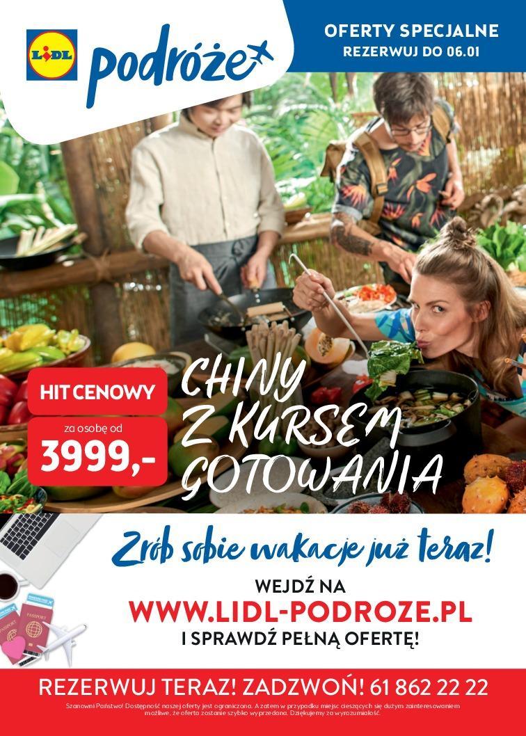 Gazetka promocyjna Lidl do 06/01/2019 str.1