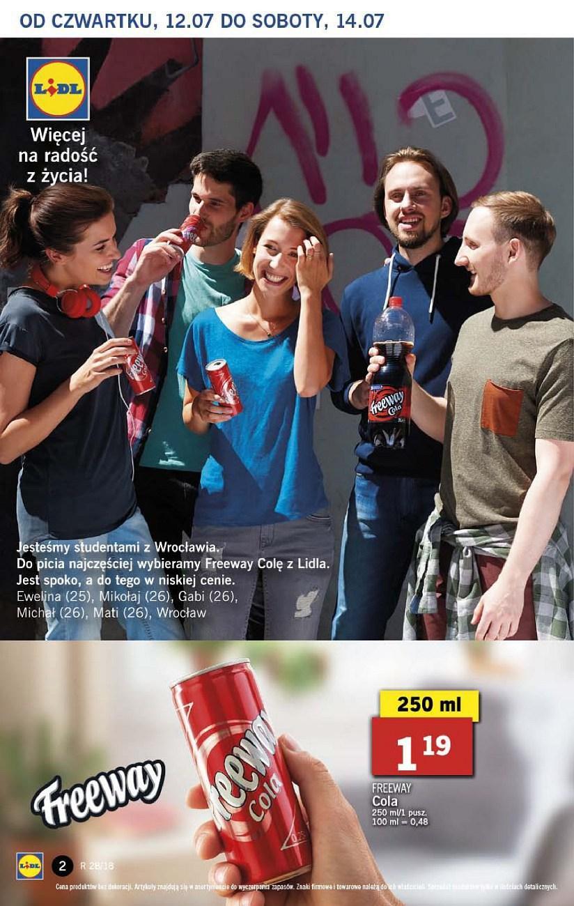 Gazetka promocyjna Lidl do 14/07/2018 str.1