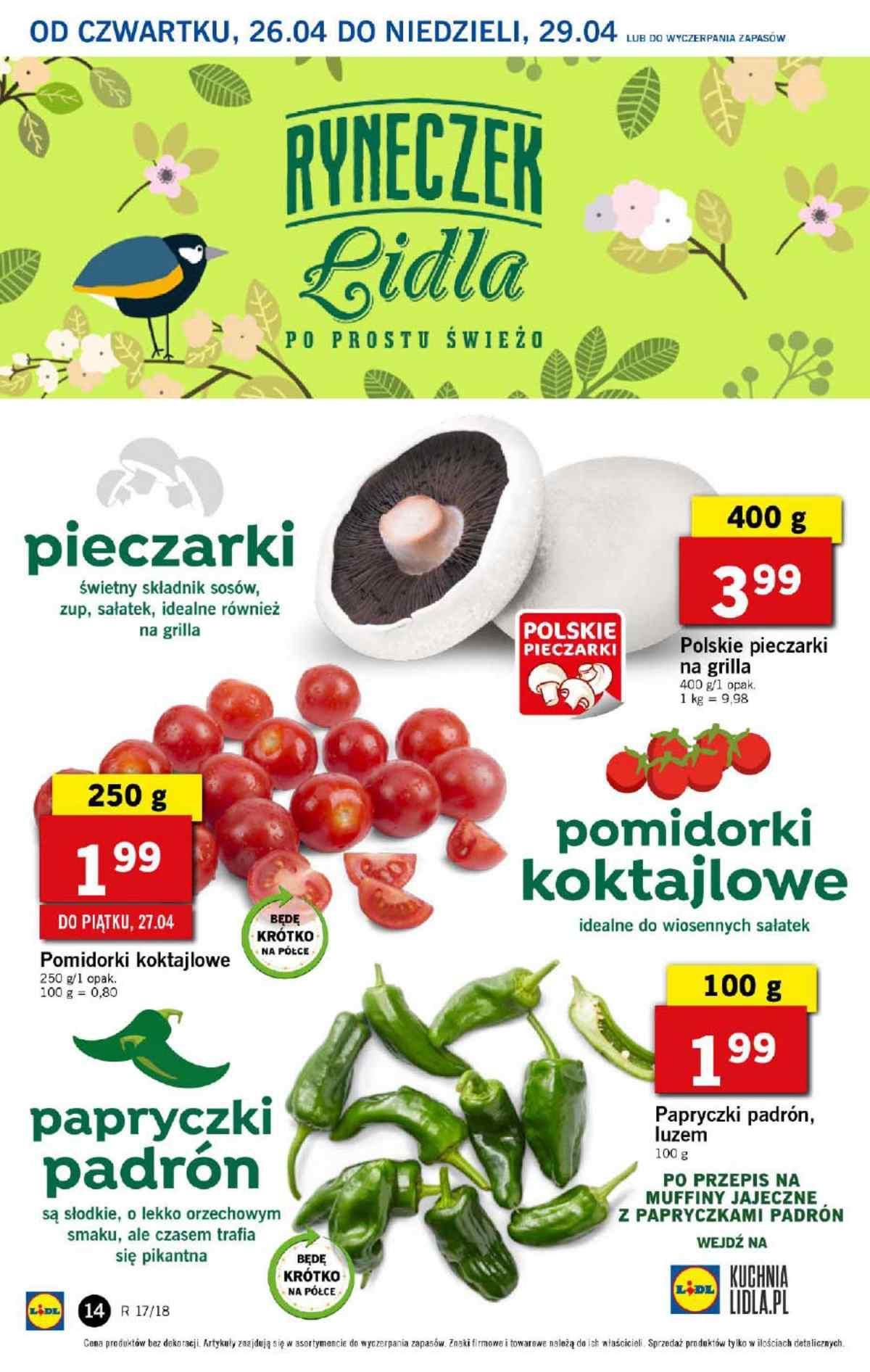 Gazetka promocyjna Lidl do 29/04/2018 str.13
