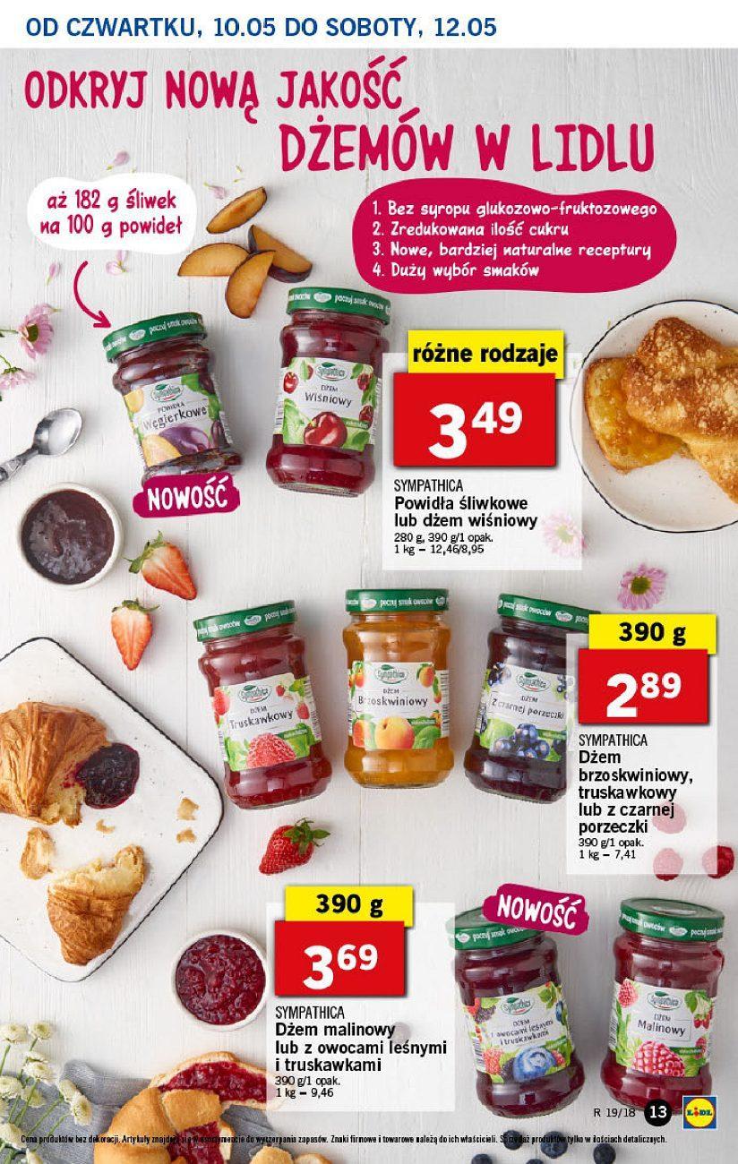 Gazetka promocyjna Lidl do 12/05/2018 str.12