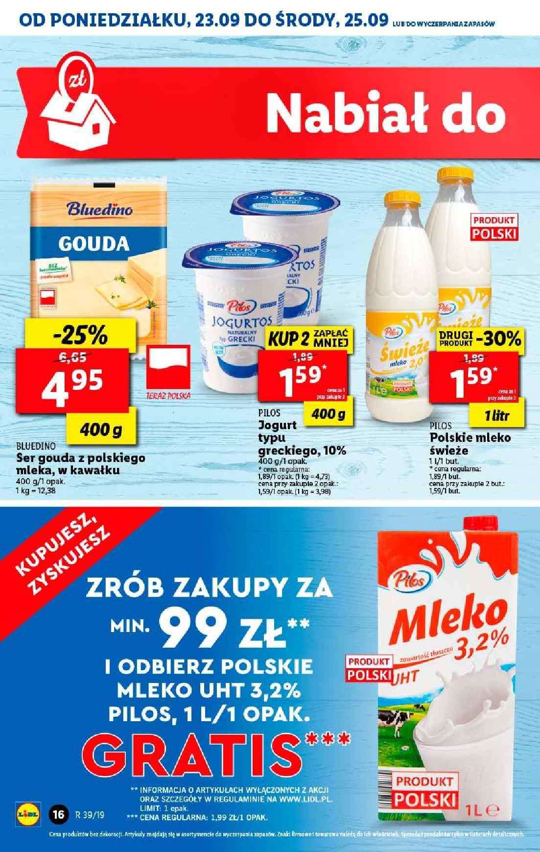 Gazetka promocyjna Lidl do 25/09/2019 str.16