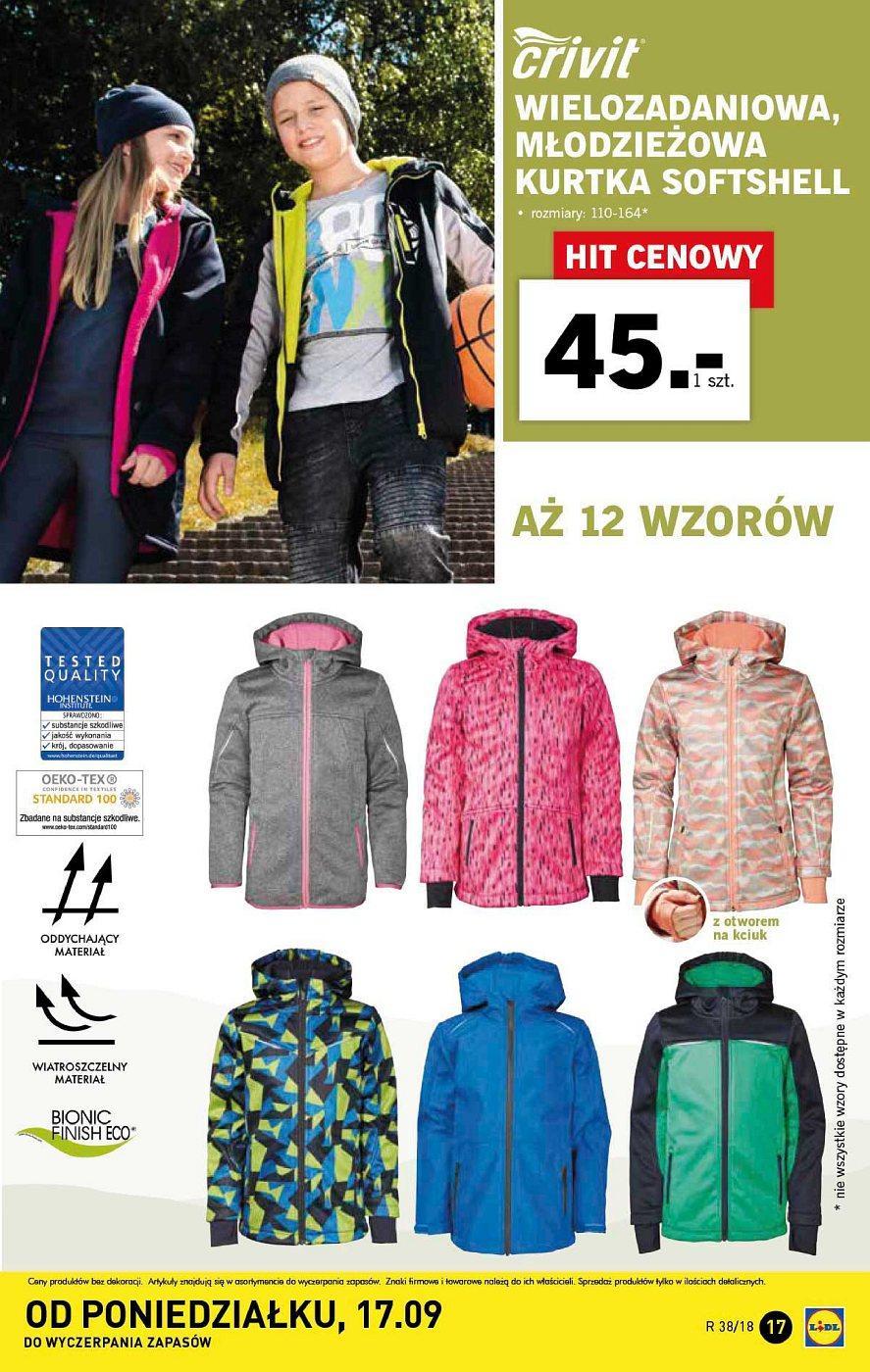 Gazetka promocyjna Lidl do 22/09/2018 str.17