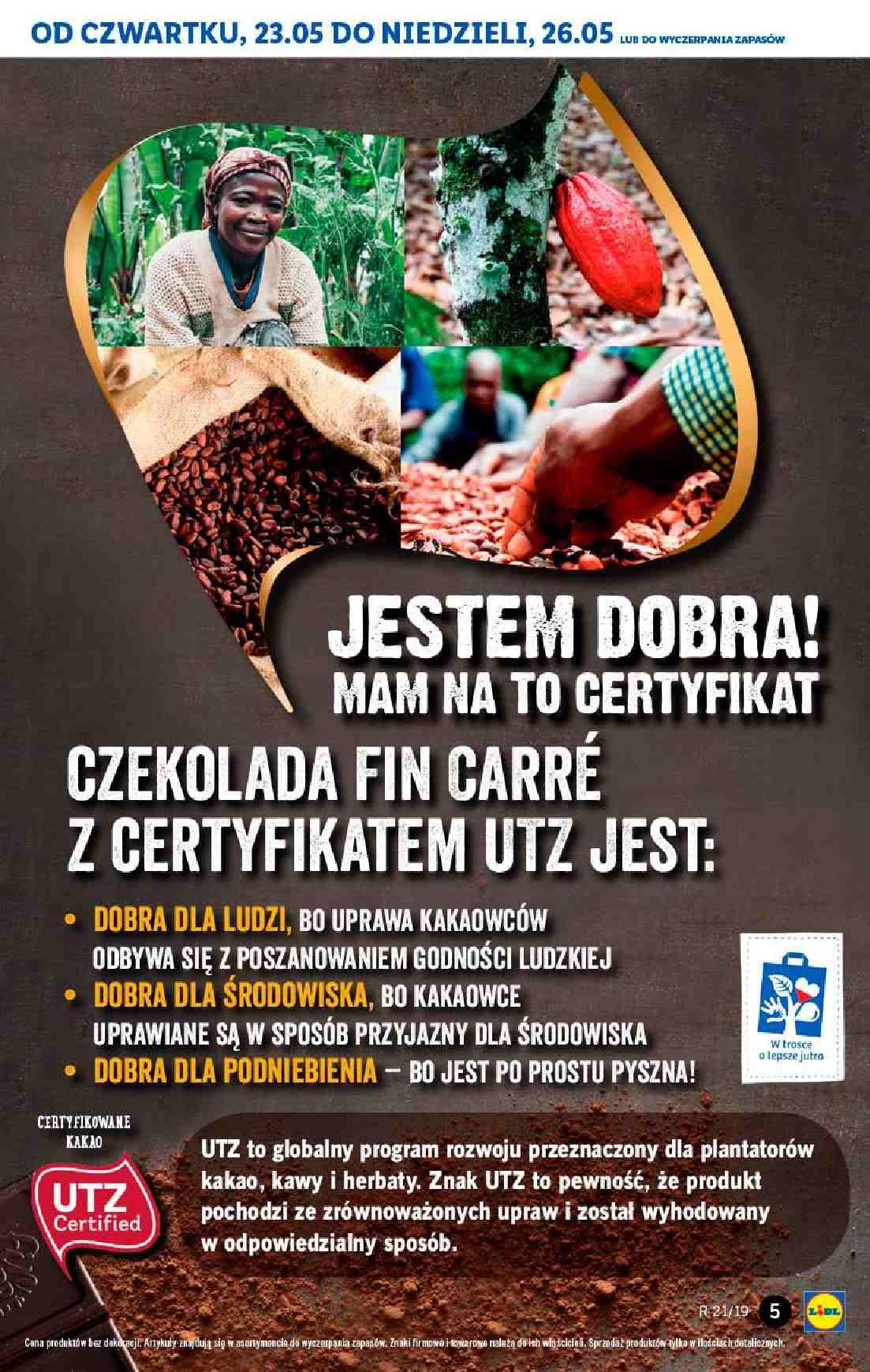 Gazetka promocyjna Lidl do 26/05/2019 str.5