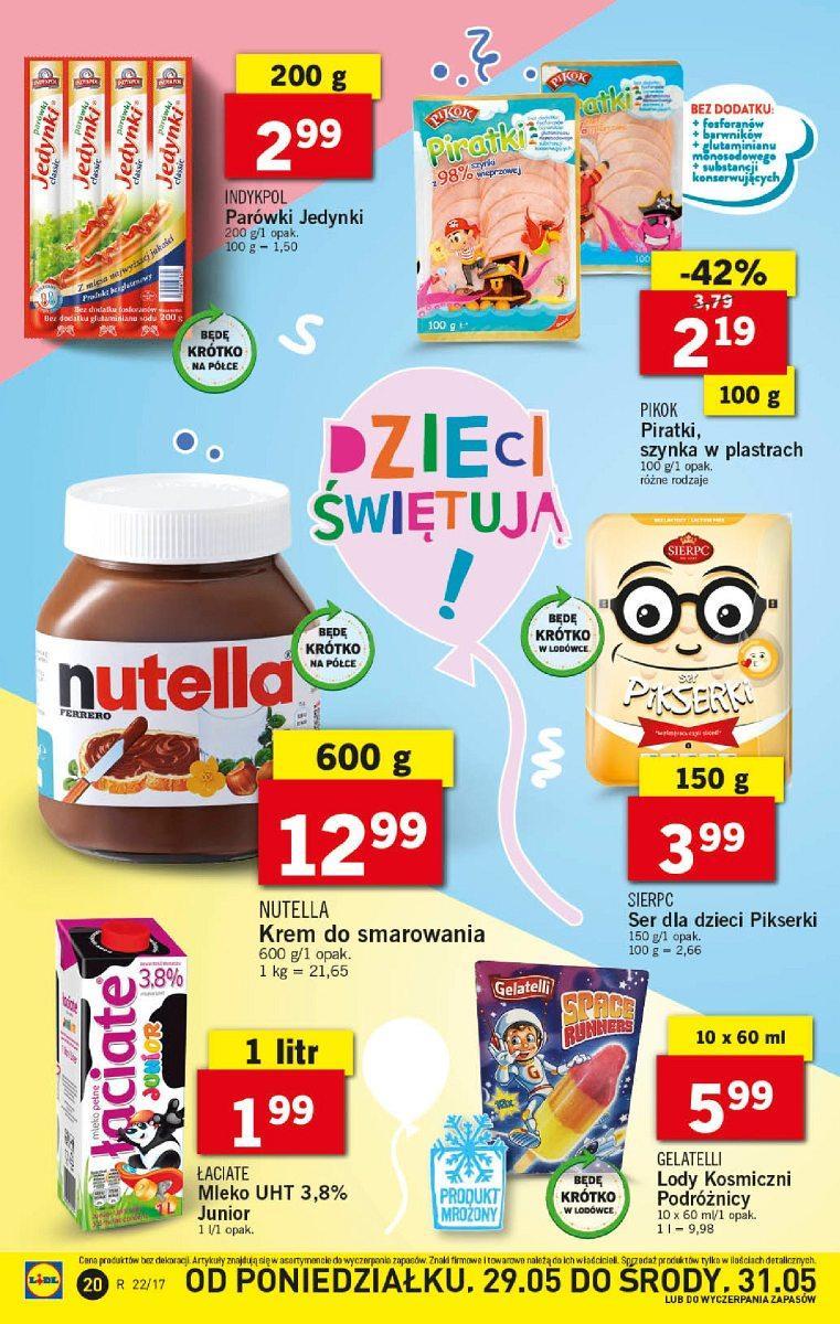 Gazetka promocyjna Lidl do 31/05/2017 str.19