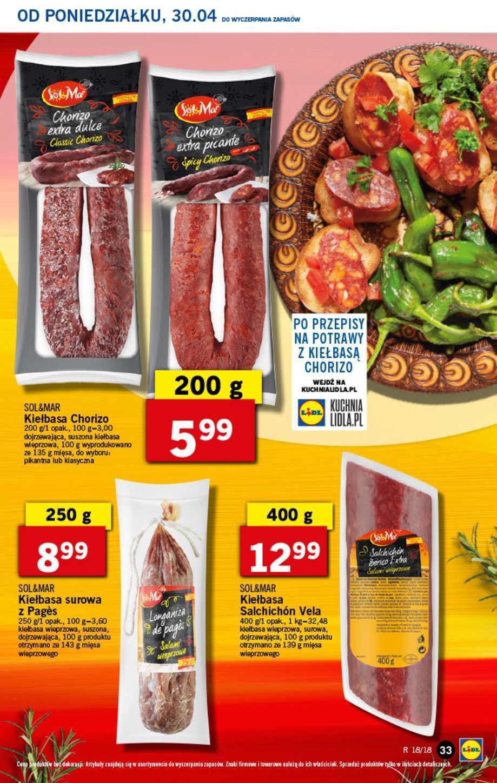Gazetka promocyjna Lidl do 02/05/2018 str.32
